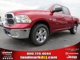 2014 Deep Cherry Red Crystal Pearl Ram 1500 Big Horn Crew Cab #87057180
