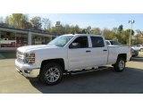 2014 Summit White Chevrolet Silverado 1500 LT Crew Cab 4x4 #87056966