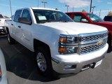 2014 Summit White Chevrolet Silverado 1500 LT Crew Cab 4x4 #87057729