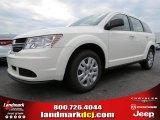 2014 White Dodge Journey Amercian Value Package #87057175