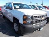 2014 Summit White Chevrolet Silverado 1500 WT Double Cab 4x4 #87057728