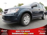 2014 Fathom Blue Pearl Dodge Journey Amercian Value Package #87057174