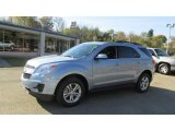 2014 Silver Topaz Metallic Chevrolet Equinox LT AWD #87056964