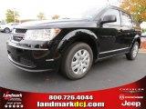 2014 Pitch Black Dodge Journey Amercian Value Package #87057173