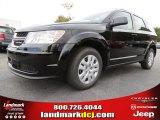 2014 Pitch Black Dodge Journey Amercian Value Package #87057172