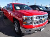 2014 Victory Red Chevrolet Silverado 1500 LT Crew Cab 4x4 #87057726