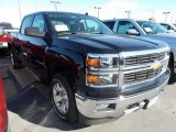 2014 Black Chevrolet Silverado 1500 LT Crew Cab 4x4 #87057723