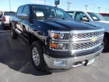 2014 Black Chevrolet Silverado 1500 LTZ Crew Cab 4x4 #87057721