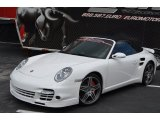 2008 Carrara White Porsche 911 Turbo Cabriolet #87057716