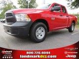 2014 Flame Red Ram 1500 Tradesman Quad Cab #87057146