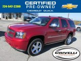 2013 Crystal Red Tintcoat Chevrolet Tahoe LTZ 4x4 #87057711