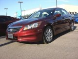 2011 Basque Red Pearl Honda Accord EX Sedan #87057137
