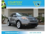 2013 Sterling Gray Metallic Ford Explorer Limited #87057708