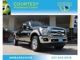 2012 Black Ford F250 Super Duty Lariat Crew Cab 4x4 #87057705