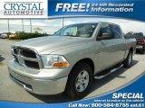 2010 Bright Silver Metallic Dodge Ram 1500 SLT Crew Cab #87057944