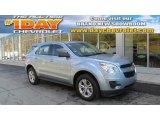 2014 Silver Topaz Metallic Chevrolet Equinox LS AWD #87056728
