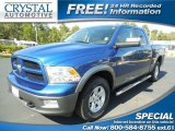 2011 Deep Water Blue Pearl Dodge Ram 1500 SLT Outdoorsman Crew Cab 4x4 #87057932