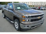 2014 Brownstone Metallic Chevrolet Silverado 1500 LT Z71 Double Cab 4x4 #87057920