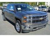 2014 Brownstone Metallic Chevrolet Silverado 1500 LTZ Crew Cab 4x4 #87057912