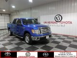 2012 Blue Flame Metallic Ford F150 XLT SuperCrew #87056893