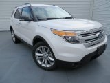 2014 White Platinum Ford Explorer XLT #87057430