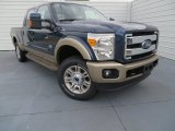 2014 Blue Jeans Metallic Ford F250 Super Duty King Ranch Crew Cab 4x4 #87057429