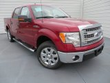 2013 Ruby Red Metallic Ford F150 XLT SuperCrew #87057421