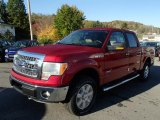 2013 Ruby Red Metallic Ford F150 XLT SuperCrew 4x4 #87058129
