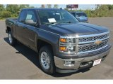 2014 Tungsten Metallic Chevrolet Silverado 1500 LT Double Cab 4x4 #87057872