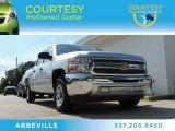 2013 Silver Ice Metallic Chevrolet Silverado 1500 LT Crew Cab #87058121