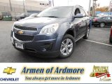 2014 Atlantis Blue Metallic Chevrolet Equinox LT #87057396