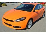 2013 Header Orange Dodge Dart SXT #87182854