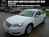 2014 Bright White Chrysler 200 Limited Sedan #87182618