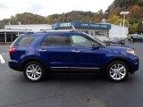 2013 Deep Impact Blue Metallic Ford Explorer XLT 4WD #87182532
