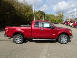 2013 Ruby Red Metallic Ford F150 XLT SuperCab 4x4 #87182531