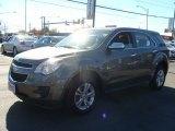 2010 Mocha Steel Metallic Chevrolet Equinox LS #87182523