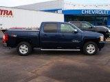 2009 Imperial Blue Metallic Chevrolet Silverado 1500 LT Crew Cab 4x4 #87182445