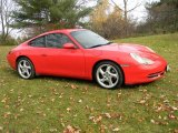 2001 Porsche 911 Guards Red