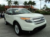 2011 White Suede Ford Explorer XLT #87182509
