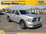 2012 Bright Silver Metallic Dodge Ram 1500 ST Crew Cab 4x4 #87182597