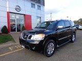 2012 Galaxy Black Nissan Armada Platinum 4WD #87182746