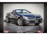2014 Steel Grey Metallic Mercedes-Benz SLK 250 Roadster #87182430