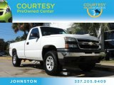 2006 Summit White Chevrolet Silverado 1500 Work Truck Regular Cab 4x4 #87182489