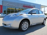 2013 Brilliant Silver Nissan LEAF S #87182723