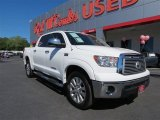2013 Super White Toyota Tundra Limited CrewMax 4x4 #87182484