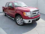 2013 Ruby Red Metallic Ford F150 XLT SuperCrew #87182650