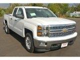 2014 Summit White Chevrolet Silverado 1500 LT Double Cab 4x4 #87182803