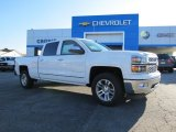2014 Summit White Chevrolet Silverado 1500 LTZ Crew Cab #87182703