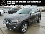2014 Granite Crystal Metallic Jeep Grand Cherokee Limited 4x4 #87182623