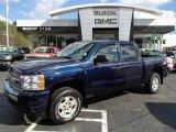 2009 Imperial Blue Metallic Chevrolet Silverado 1500 LT Z71 Crew Cab 4x4 #87225041